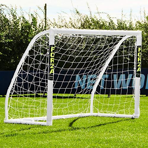 Net World Sports Forza Match Fußballtore - das Beste Tor bei jedem Wetter - 5 Größen (1,5m x 1,2m) - 1