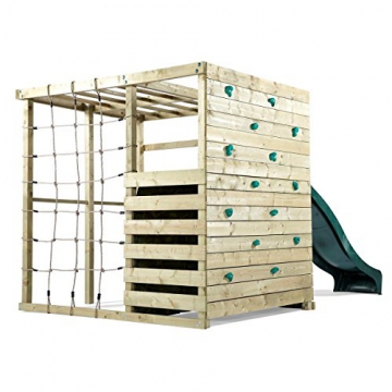 Pflaume Klettern Cube Holz Play Centre - 2