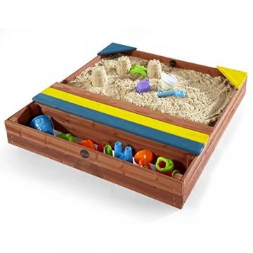 Plum Kinder Sandkasten mit Staufach, 25069 -