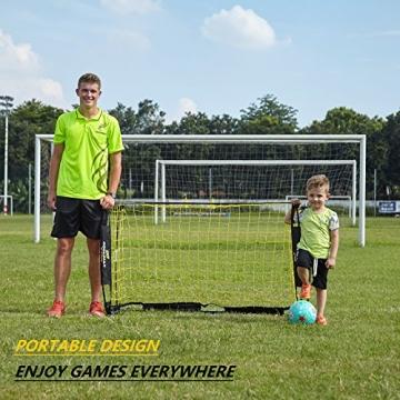 Podiumax Tragbar Fußball Ziel - 6