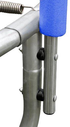 SixBros. SixJump 1,40 M Gartentrampolin Blau Trampolin mit Sicherheitsnetz T140/1535 - 2