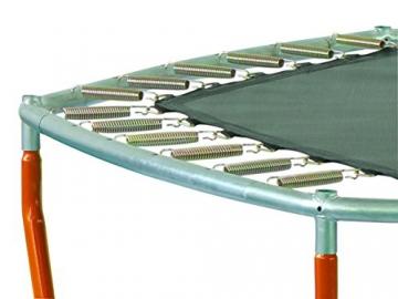 SixBros. SixJump 2,10 M Gartentrampolin Orange Trampolin mit Sicherheitsnetz TO210/2027 - 2