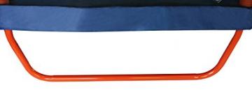 SixBros. SixJump 2,10 M Gartentrampolin Orange Trampolin mit Sicherheitsnetz TO210/2027 - 3