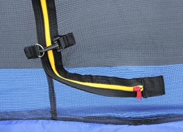 SixBros. SixJump 2,10 M Gartentrampolin Orange Trampolin mit Sicherheitsnetz TO210/2027 - 4