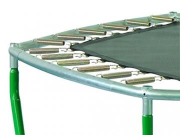 SixBros. SixJump 2,10 M Gartentrampolin Trampolin Grün mit Sicherheitsnetz TG210/2026 - 2