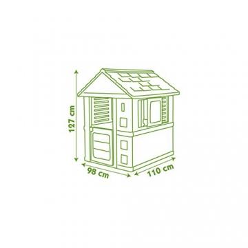 Smoby 810708 Jolie Haus, Türkis/Weiß/Grau - 5