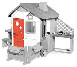 Smoby 810905 Neo Jura Lodge Haustüre, rot - 1