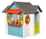 Smoby – Chef Haus - Multifunktionshaus für Kinder für drinnen und draußen, Restaurant, Spielhaus und Kaufmannsladen für Jungen und Mädchen ab 2 Jahren - 1