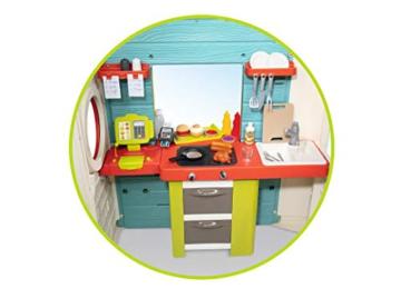 Smoby – Chef Haus - Multifunktionshaus für Kinder für drinnen und draußen, Restaurant, Spielhaus und Kaufmannsladen für Jungen und Mädchen ab 2 Jahren - 6