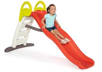 Smoby - Funny II Wellenrutsche, Große Rutsche mit Wasseranschluss, 2 Meter lang, mit Rutschauslauf, für Kinder ab 2 Jahren - 2