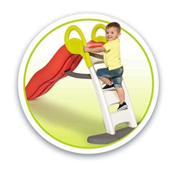 Smoby - Funny II Wellenrutsche, Große Rutsche mit Wasseranschluss, 2 Meter lang, mit Rutschauslauf, für Kinder ab 2 Jahren - 4