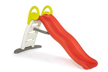 Smoby - Funny II Wellenrutsche, Große Rutsche mit Wasseranschluss, 2 Meter lang, mit Rutschauslauf, für Kinder ab 2 Jahren - 1