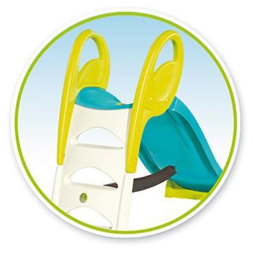 Smoby – KS Rutsche – kompakte Kinderrutsche mit Wasseranschluss, 1,5 Meter lang, mit Rutschauslauf, Verstrebung, Haltegriffen, für Kinder ab 2 Jahren - 6