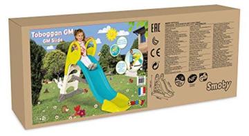 Smoby – KS Rutsche – kompakte Kinderrutsche mit Wasseranschluss, 1,5 Meter lang, mit Rutschauslauf, Verstrebung, Haltegriffen, für Kinder ab 2 Jahren - 8
