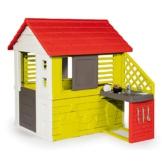 Smoby Nature II Spielhaus für Kinder Casa Nature II mit Küche grün - 1