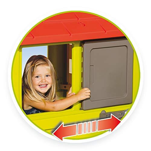 Smoby Nature II Spielhaus für Kinder Casa Nature II mit Küche grün - 4