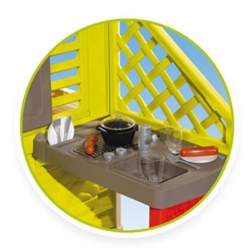 Smoby Nature II Spielhaus für Kinder Casa Nature II mit Küche grün - 5