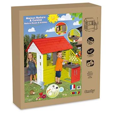 Smoby Nature II Spielhaus für Kinder Casa Nature II mit Küche grün - 7