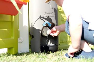 Smoby – Regenfass mit Gießkanne – Zubehör für Smoby Spielhäuse, Sammlung von Regenwasser, mit Regenrinne und Wasserhahn, passend für die meisten Smoby Spielhäuser - 3