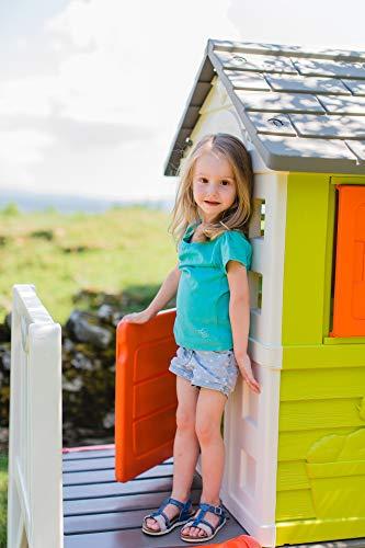 Smoby – Stelzenhaus - Spielhaus mit Rutsche, XL Spiel-Villa auf Stelzen, mit Fenstern, Tür, Veranda, Leiter, für Jungen und Mädchen ab 2 Jahren - 14