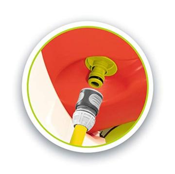Smoby – Stelzenhaus - Spielhaus mit Rutsche, XL Spiel-Villa auf Stelzen, mit Fenstern, Tür, Veranda, Leiter, für Jungen und Mädchen ab 2 Jahren - 3