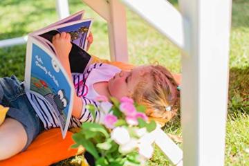 Smoby – Stelzenhaus - Spielhaus mit Rutsche, XL Spiel-Villa auf Stelzen, mit Fenstern, Tür, Veranda, Leiter, für Jungen und Mädchen ab 2 Jahren - 8