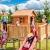 Spielhaus MYSPACE XL -SPIDER- Podesthöhe 125/145 cm 2,90 m Rutsche Schaukel - 7