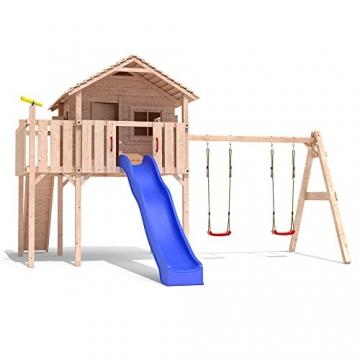 spielturm colino stelzenhaus baumhaus holzspielhaus rutsche schaukel gartenhaus einfacher. Black Bedroom Furniture Sets. Home Design Ideas