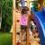 Spielturm FORTRESS-SPIDER-Podest 125/145cm, 2,90 m Rutsche und Schaukel - 6