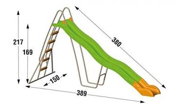 Trigano Wellenrutsche Condor Rutschlänge 390 cm, J-32100P4 - 4