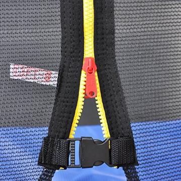 ULTRAPOWER SPORTS 244cm 305cm 366cm 397cm 427cm Trampolin Sicherheitsnetz Ersatznetz & Randabdeckung Federabdeckung - Schwarz 397cm - 7
