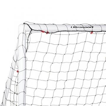 Ultrasport Fußballtor, Stecksystem, aus wetterfestem Kunststoff, 180 x 120 x 90 cm -