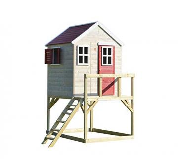 Wendi Toys Kinderspielhaus Storch inkl. Fensterladen - 1