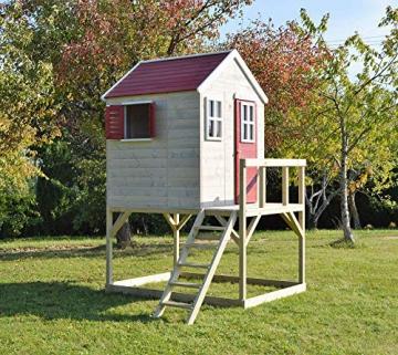 Wendi Toys Kinderspielhaus Storch inkl. Fensterladen - 3