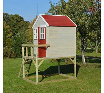 Wendi Toys Kinderspielhaus Storch inkl. Fensterladen - 5