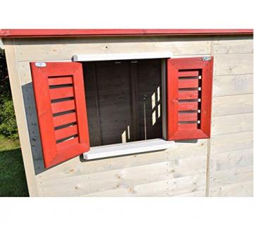 Wendi Toys Kinderspielhaus Storch inkl. Fensterladen - 6