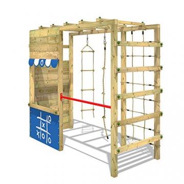 WICKEY Spielturm Klettergerüst Smart Action Kinder Turngerüst Holz Kletterturm - 2