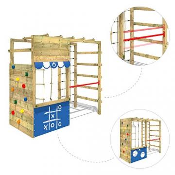 WICKEY Spielturm Klettergerüst Smart Action Kinder Turngerüst Holz Kletterturm - 3