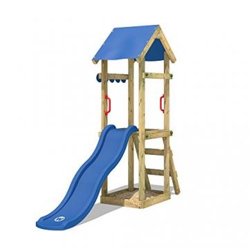 WICKEY Spielturm mit Rutsche TinySpot Kletterturm Klettergerüst mit Sandkasten und Kletterleiter - 3