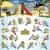 WICKEY Spielturm 'MultiFlyer' Klettergerüst mit blauer Rutsche und oranger Plane - 6